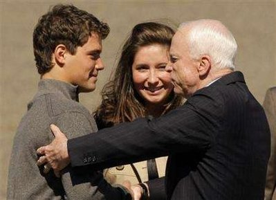 Levi Johnson, Bristol Palin and John McCain.jpg